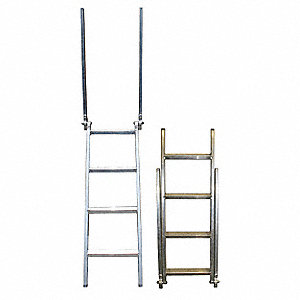 Step Deck Trailer Ladder