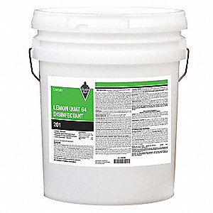 5 gal. Cleaner and Disinfectant, 1 EA