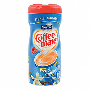 15 oz. Powder Coffee Creamer French Vanilla&#x3b; PK12