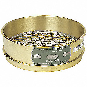 "Sieve, 1-1/4"", B/S, 8 In, Full Ht"
