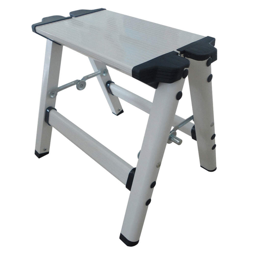 Pleasing Grainger Approved Aluminum Step Stand 11 1 2 Overall Creativecarmelina Interior Chair Design Creativecarmelinacom