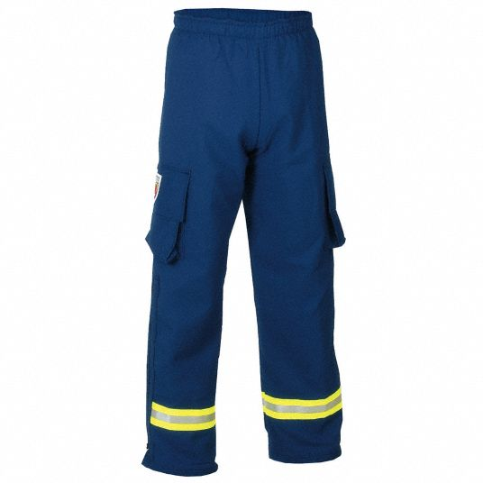 EMS Pants. Size: 2XL, Fits Waist Size: 48 in, Inseam: 30 in, Navy