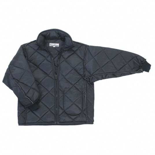 EMS Jacket Nylon Liner, M Fits Chest Size 42 in, Black Color