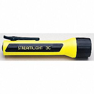FLASHLIGHT 3C LED YELLOW