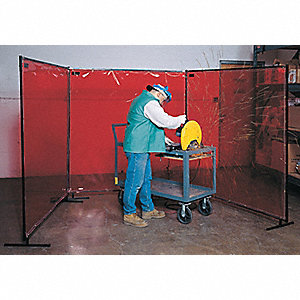 WELD SCREEN YELLOW TRANS 6FTX6FT