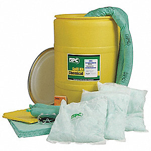 KIT OIL ONLY ATTACKPAC ABSORBS 7GAL