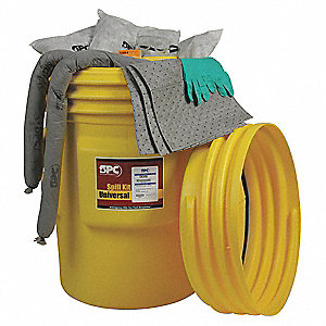KIT SPILL OIL 95GAL DRUM OVERPACK