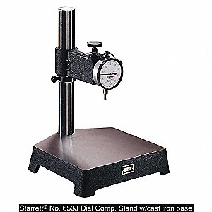 COMPARATOR W/CASE IRON BASE WITHOUT