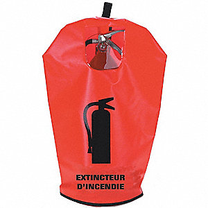 COVER F/EXTINGUISHER 10 LBS FRENCH