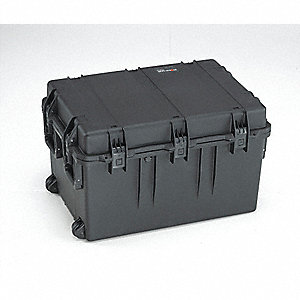 CASE TRANSPORT WITH FOAM BLACK