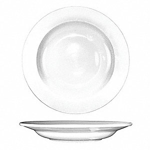 Pasta Bowl, 12 Oz,  European White, PK12