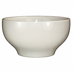 Bowl, Footed, 40 Oz, American White, PK12
