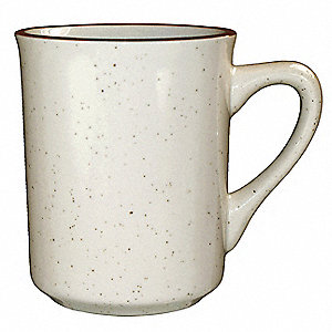 Mug, Toledo, 8-1/2 Oz, Brown Speckle, PK36