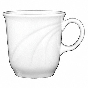 Cup, Tall, 7 Oz, Bright White, PK12