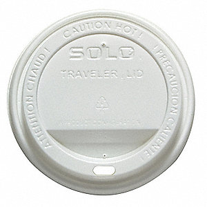 Hot Cup Lid,Type Dome, Sip Through,PK300