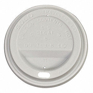 Dome Lid,for 8 Oz Hot Cups,PK500