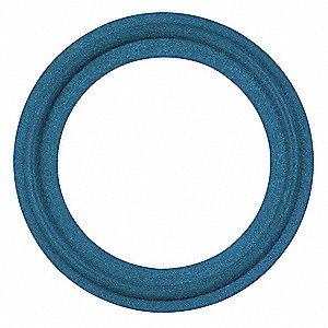 "Tri-Clamp Sanitary Gasket, 2.878"" Inside Dia., 3.583"" Outside Dia., TUF-STEEL® X-Rayable/Metal Detec"