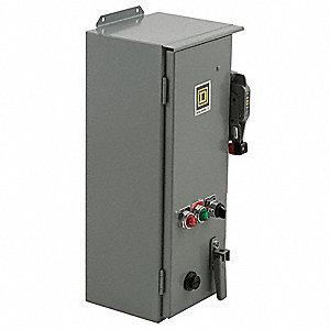 Square d nema fusible combination starter 600vac max for Square d combination motor starter