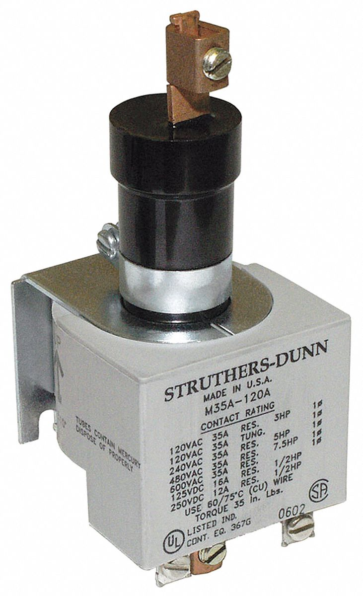 Mercury Displacement Contactors