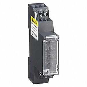 Schneider Electric Phase Monitor Relay 208 To 480v Ac 3a 250v 5a 24v 1 00a 24v 6 Pins Spdt 12n828 Rm17te00 Grainger
