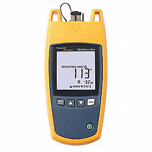 SC Fiber Optic Tester, Measures Distance to Fault, Threshhold of Loss, Reflectance