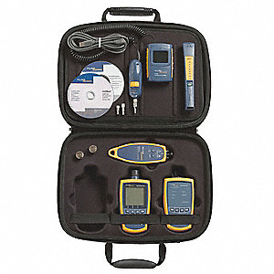 ST, SC, LC Fiber Optic Tester, Measures Power Levels in dBm