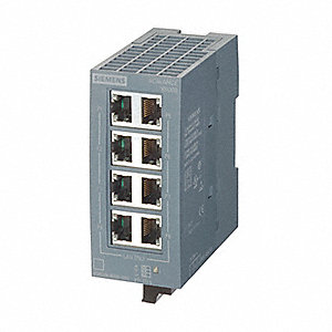 24VDC Unmanaged Ethernet Switch with 8 Ports