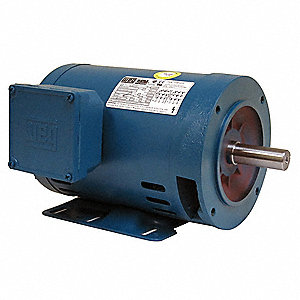 30 HP General Purpose Motor,3-Phase,1770 Nameplate RPM,Voltage 230/460,Frame 286TC