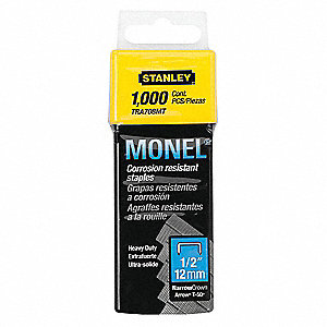 STAPLES MONEL NAR CROWN 1/4 1000/PK