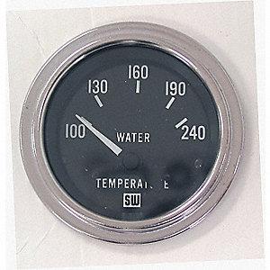 GAUGE WATER TEMPERATURE 100-280