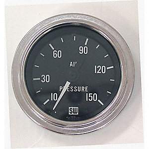 GAUGE AIR PRESSURE 10-150