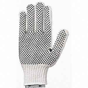 GLOVES COTTON/POLY PVC DOT PALM XL