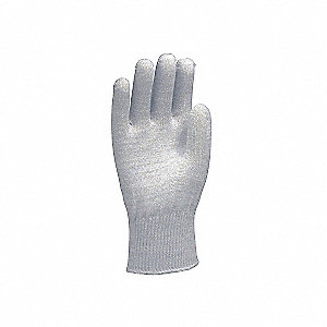 GLOVES ANTI-STC NYL STRING KNIT LGE