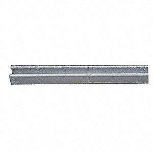 CHANNEL D 12GA PREGALV 10 FT. LENGTH