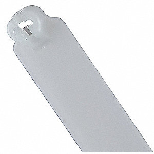 Cable Tie,With Tag,14.2in,Natural,PK1000