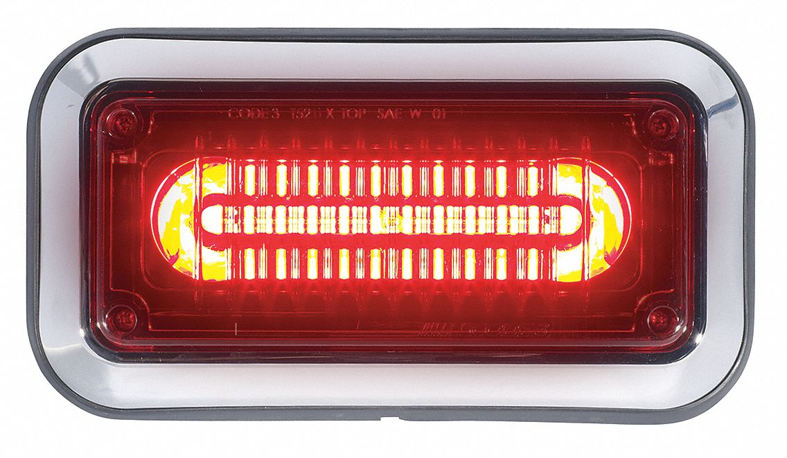 Vehicle Warning And Marker Lights