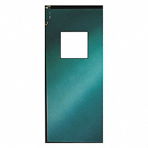 Swinging Door,8 x 3 ft,Forest Green
