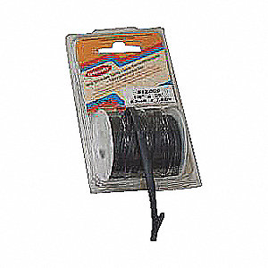 TUBING HEAT SHRINK BK 1/2X10FT /PK