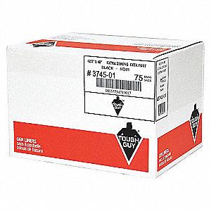 GARBAG BAGS 26X36 XSTRG BLK 125/CA