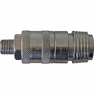 COUPLER UNIVERSAL 1/4 SAFETY 1/4 (M