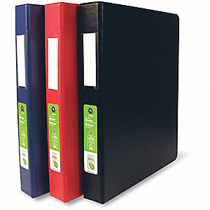 BINDER 1.6IN GREEN D-RING