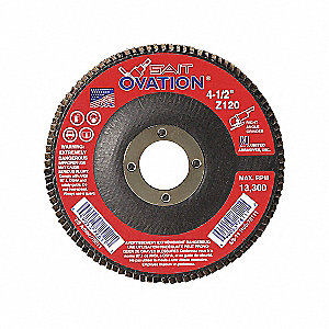 FLAP DISC OVATION 6 X 7/8 Z 40X