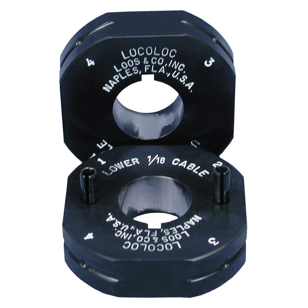 LOOS Ball Terminal Roll Die Set, 3/32, PR - 13P073|M1-B3 - Grainger