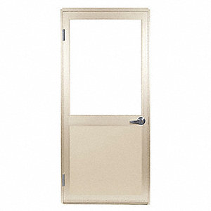 Door Leaf and Frame,Lever Lockset, Beige