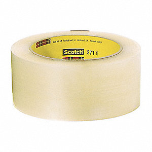 50m x 48mm Polypropylene Carton Sealing Tape, Clear