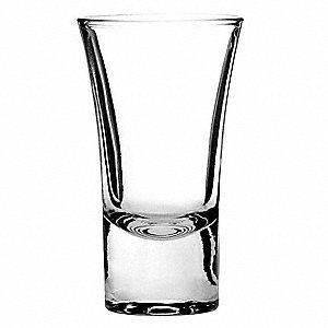 Shooter Shot Glass,1-3/4 Oz,PK72