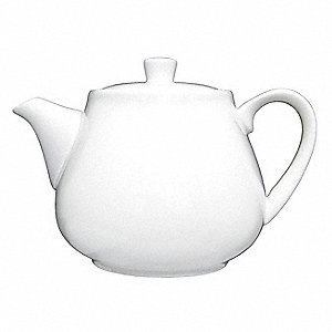 Tea/Coffee Pot,21 Oz,Bright White,PK36