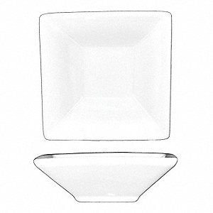 Square Fruit Dish,7 Oz,White,PK36