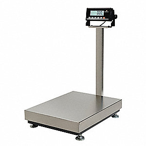 Benchtop Scale,Digital,150kg/300 lb.