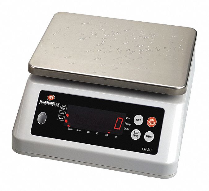 33 lb, 15 kg,  Digital,  LED,  Compact Bench Scale